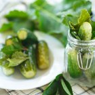 How to Oven Bake Pickles