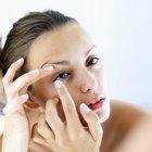 ¿Qué sucede cuando duermes con tus lentes de contacto puestos?