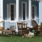 Cómo hacer sillas en miniatura para casas de muñecas con utensilios cotidianos