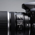 SLR cameras allow you to change the lens on the camera.