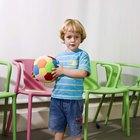 Juego más pesado y más liviano para jardín de infantes