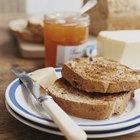 Desayuno sano sin huevos