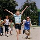 Juegos para correr en la clase de gimnasia