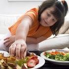 Lista de comidas balanceadas para niños