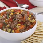 How do I Make Homemade Vegetable Beef Soup in a Crock Pot?