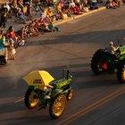Como encontrar el año de un tractor John Deere