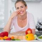 Efectos secundarios de cambiar a una dieta vegetariana