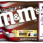 Cuántas calorías contiene un M&M