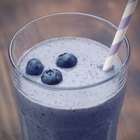 Make Blueberry Smoothies