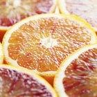 Valor nutricional de la naranja roja