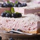 No Bake Blueberry Cream Cheese Pie With Condensed Milk & Lemon Juice