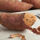 Slicing Sweet Potatoes and Baking as Patties