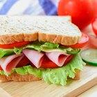 Ham & Turkey Sandwich Calories