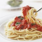 Calories in Pasta With Marinara Sauce