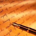 Partes de las oraciones y reglas gramaticales
