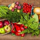 Vegetales con almidón versus vegetales sin almidón