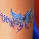 How Are Temporary Tattoos Done?