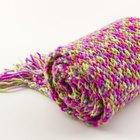 Cortinas de lana de colores