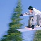 Cómo aterrizar en una rampa de snowboad
