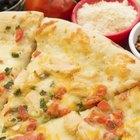 Calorías en la pizza blanca