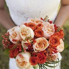 How to Make a Bridal Bouquet With Fresh Flowers