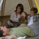 Cómo hacer un campamento en casa
