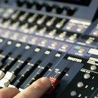 Cómo utilizar un mezclador de audio