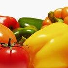 Lista de vegetales y frutas solanáceas
