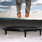 ¿Es saltar en un trampolín más efectivo que correr?