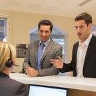 Business Reception Etiquette