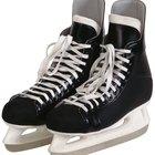 Cómo medir los cordones de los patines para hockey