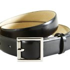 Take Care of a Leather Belt