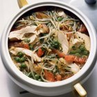Información nutricional del caldo de pollo hecho en casa