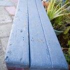 Cómo cambiar la pintura de la madera oscura a un color claro