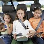 Medidas de seguridad para los niños en los automotores