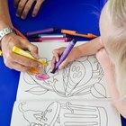 Cómo enseñar colores a niños con discapacidades
