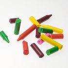 Cómo hacer arte con crayones Crayola