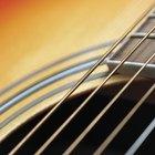 Cómo limpiar cuerdas de guitarra oxidadas