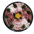 How to Use Deli Cold Cut Slices as a Flower