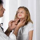 Ganglios linfáticos inflamados en el cuello después de comer