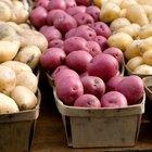 Información nutricional de las patatas blancas