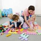 Cómo explicar par e impar a los niños de jardín de infantes