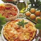 Cómo agregar huevos a una pizza