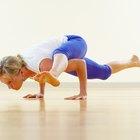"""postura de yoga """"las tijeras"""""""