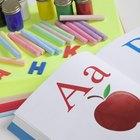 Cómo elaborar un libro del alfabeto con niños de edad preescolar