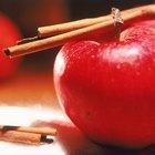 ¿Cuántas calorías hay en una manzana Red Delicious?