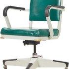Cómo reemplazar el cilindro de gas de una silla para oficina