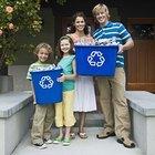 Cómo pueden ayudar los niños a los papás a reciclar