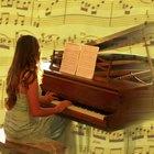 ¿Qué tipo de ondas de sonido produce un piano?