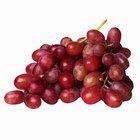 Tamaño de porción de las uvas